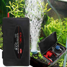 Air Pump Portable Aquarium Fish Tank Battery Powered Oxygen Aerator With Stone