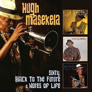 Hugh Masekela Sixty/Black To The Future/Notes Of Life 3-CD NEW SEALED 2017
