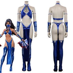 Mortal Kombat Cosplay Costume Halloween Outfit Full Set