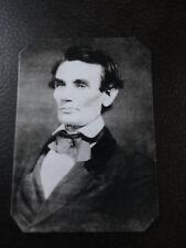 President Abraham Lincoln Civil War By Alschuler tintype C940RP