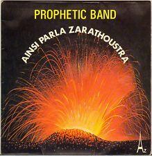 "PROPHETIC BAND ""AINSI PARLA ZARATHOUSTRA"" SOUL FUNK 70'S SP"