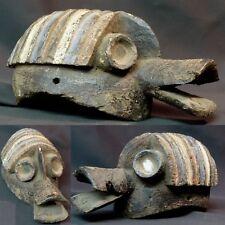 N2 Art Africain masque très ancien Mumuye Nigéria 27cm originalité déco rare