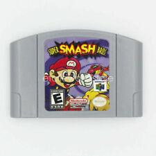 Nintendo N64 Video Game Cartridge Console Card Super Smash Bros English Language