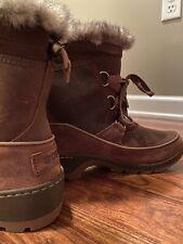 SOREL Tivoli III PREMIUM Brown Leather 6.5 NEW