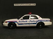 Suffolk County NY Highway Patrol 1:24 Scale Ford Crown Victoria Police Cruiser