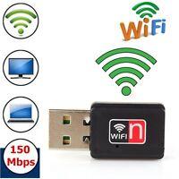 150Mbps Mini USB WiFi Wireless Adapter Dongle 150M Network LAN Card 802.11N/G/B