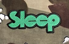 Sleep Embroidered Patch S044P Electric Wizard High On Fire Black Sabbath