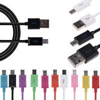 Universale Micro USB 1M / 2M / 3M Cavo Caricatore Sync Dati Per Samsung Galaxy