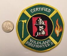 Utah State Certified Wildland Firefighter 2 US Forest Service Firefighter Patch