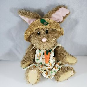 Pickford Bears Flora the Hare of Serenity Brass Button Collectibles Easter Bunny