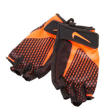 NIKE Training Gloves Size S Half Finger Padded Dri-Fit Adjustable Strap Stretchy
