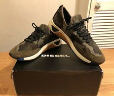Diesel S-KBY Men Multicolor Army Sneakers Trainers! UK9.5! New! Only £109,90!!!