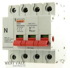 Merlin Gerin Multi 9 - MGI1253N - 125a Three Pole + N Switch Disconnecter Unused