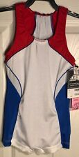 ADIDAS GK COMPETITION SHIRT BOYS LARGE ROYAL RED GYMNASTICS BOY-CUT Sz CL NWT!