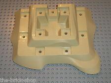 Plaque beige LEGO PIRATES tan Baseplate Raised Desert Island 64649 / Set 6241