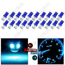 20X T10 W5W 194 168 Ice Blue 5SMD LED License Plate Tag Light Bulbs for Honda