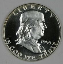 Cameo Proof 1955 Franklin Half Dollar