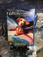 Walt Disney's Underdog DVD In Cool Blue Case. Like New! Very Nice! Live Action!