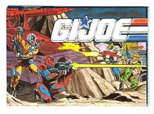 1991 GI G.I. Joe FOLD OUT CATALOGUE [EURO EXCLUSIVE] Alley Viper + HISS II cover