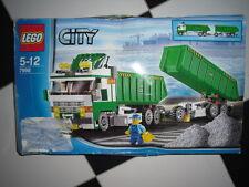 LEGO CITY 7998, GARBAGE TRUCK, completo di scatola e manuale
