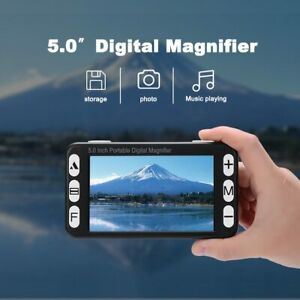 5inch Handheld Electronic Vision Device See Blackboard Far and Near Dual Camera