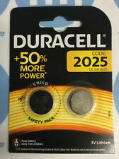 DURACELL DL2025/CR2025/ECR2025 Lithium Batteries