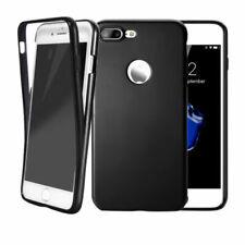 Handy hülle 360° Full Cover für iPhone Samsung Case Schutz Tasche Displayschutz Samsung Samsung Galaxy J7 2017 J730 schwarz