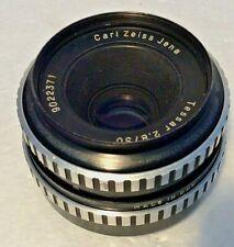 Carl Zeiss Jena Tessar 2.8/50 f/2.8 50mm Prime Camera Lens Fits M42 Mount