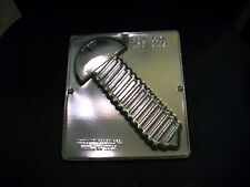 NEW Tools Lg SCREW Plaque Chocolate Candy Plaster Mold