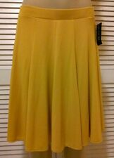 INC INTERNATIONAL CONCEPTS FRESCO GOLD COLOR  PULL ON SKIRT- SIZE LARGE