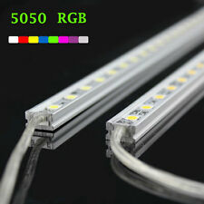 5x30-led RGB Smd5050 Strip Light Bar Cabinet Yard Lamp Kit Waterproof Hard Rigid