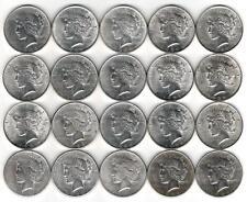 1 Roll__Mixed Peace Silver Dollars__AU-BU__#2119KC25