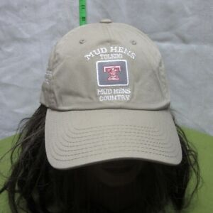 TOLEDO MUD HENS baseball cap Muddy country hat Ohio old logo 2002 Champions