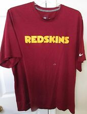 NFL Washington Redskins Team Issued Training Tee Shirt XXL by Nike