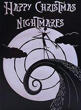 """Nightmare Before Christmas Card - """"Feliz Navidad pesadillas"""""""