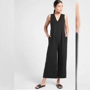 Athleta Serenity Jumpsuit - Size 1X - NWT - Black