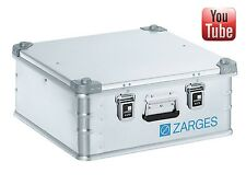 Zarges 40849 K470 Aluminium Case 550 x 550 x 220mm Storage box | Flight case