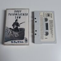 ANDY FAIRWEATHER LOW BE BOP N' HOLLA CASSETTE TAPE 1976 PAPER LABEL A&M UK