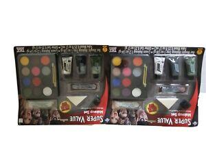 Super Value Makeup Kit Halloween costume Accessory Clown Vampire LOT OF 2