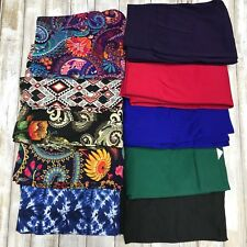 NEW - LOT OF 10 Mystery Leggings Prints & Solids OS