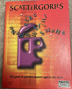 Scattergories 2 Players Modern Board Traditional Games For Sale Ebay