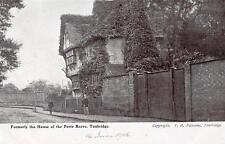 Toll House Port Reeve Tonbridge unused  dated 1905 old pc T A Flemons