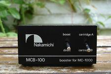 Nakamichi MCB-100 Reference Booster (MC Übertrager) für MC-1000 Mega Rare