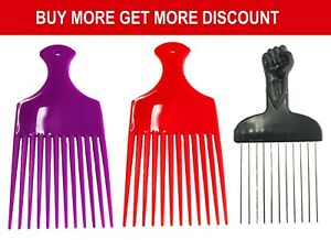 Afro metal comb pik unitangle for African hair – Afro