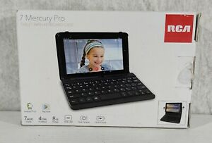 RCA 7 Mercury Pro (Bluetooth) 8 GB,4 Core,Black,Tablet With Keyboard