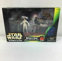 Mynock Hunt Star Wars POTF Green Card Kenner 1998 Solo Chewbacca Leia 69650 NEW