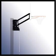 Lift System Bracket Basketball Hoop Sturdy Steel Outdoor Sports Play Home U-Turn