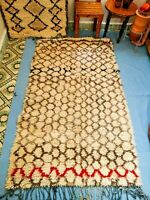 Carpet Tribal Vintage Beni Ourain Moroccan Handmade Rug Azilal Berber 6' x 4'