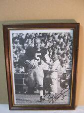Green Bay Packers Paul Hornung Autograph Vtg. Photo  T*