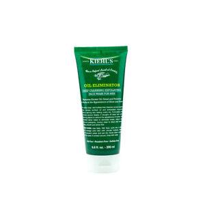 Kiehl's Men's Oil Eliminator Deep Cleansing Exfoliating Face Wash 6.8oz (200ml)